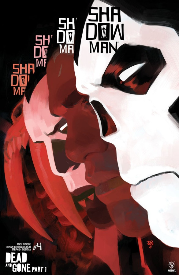 Valiant Preview: Shadowman#4