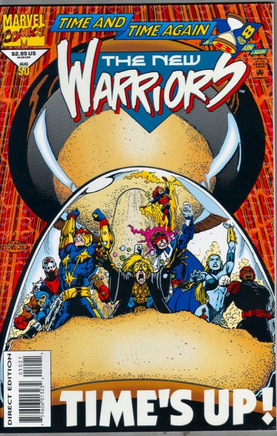 Why do people love the New Warriors? Part 3: That time there was almost a 2ndbook