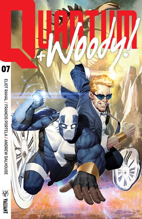 First Look: Quantum and Woody #7 from ValiantEntertainment