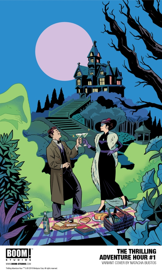 First Look: Thrilling Adventure Hour #1 from BOOM!Studios