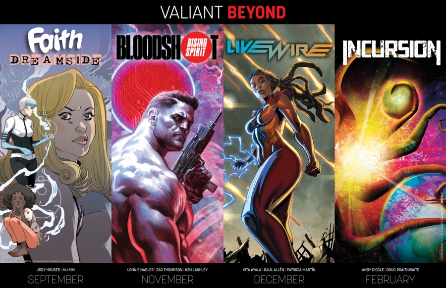"""""""Valiant Beyond"""" Brings a New Faith Series, a Livewire Series, andMore"""