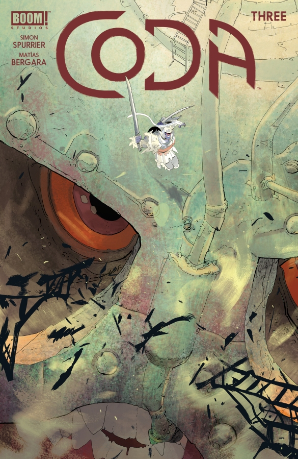 First Look at Coda #3 from BOOM!Studios