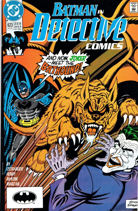 The Crazy Dick Sprang Detective Comics Covers from1990