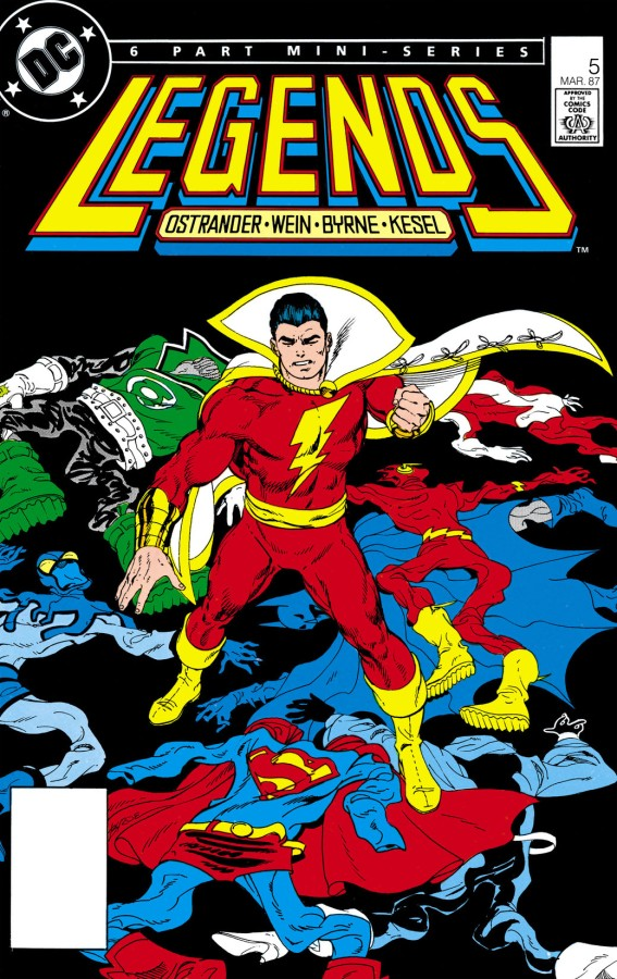"""Redefining a Universe: DC's """"Legends"""" Crossover, Part5"""