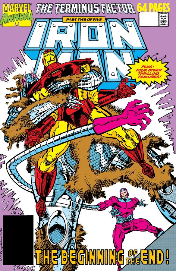 Marvel's Annual Crossover, 1990: The TerminusFactor!