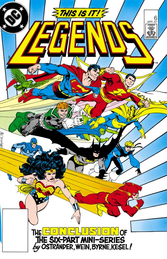 """Redefining a Universe: DC's """"Legends"""" Crossover, Part6"""
