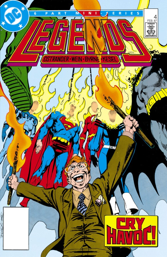 """Redefining a Universe: DC's """"Legends"""" Crossover, Part4"""