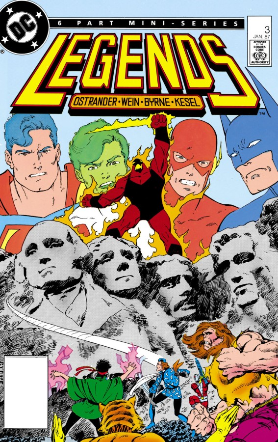"""Redefining a Universe: DC's """"Legends"""" Crossover, Part3"""