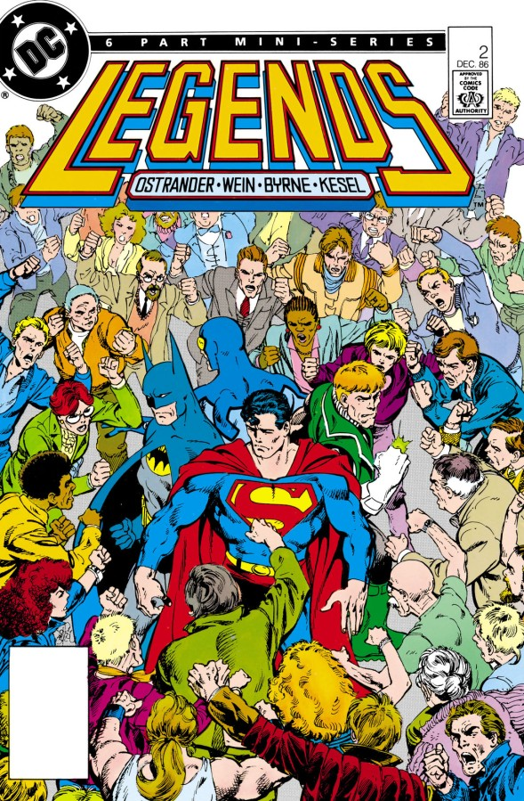 """Redefining a Universe: DC's """"Legends"""" Crossover, Part2"""