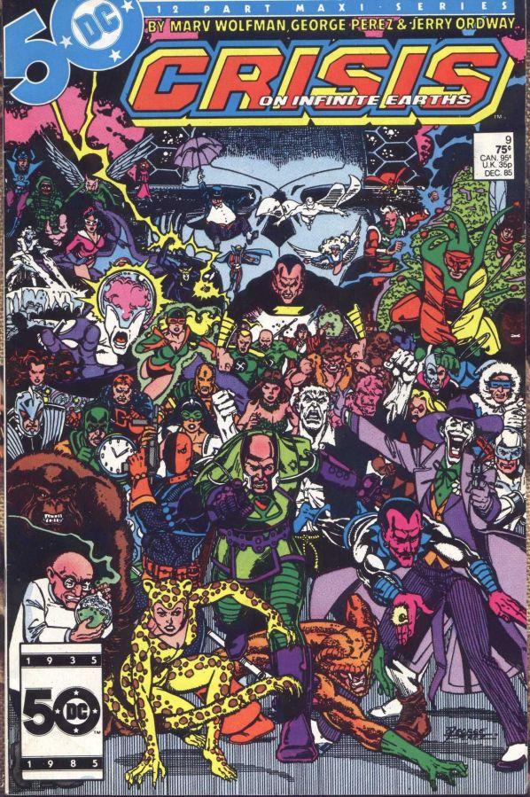 "Commence Ouroboros: DC's ""Crisis on Infinite Earths"" Part9"