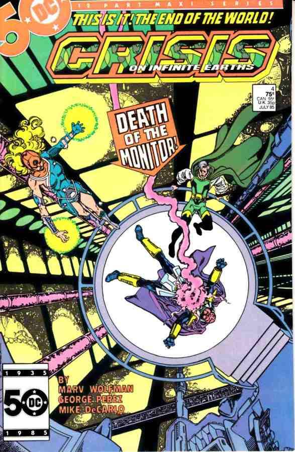 "Commence Ouroboros: DC's ""Crisis on Infinite Earths"" Part4"