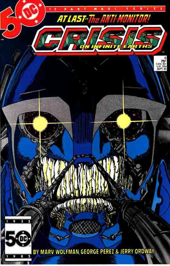 "Commence Ouroboros: DC's ""Crisis on Infinite Earths"" Part6"