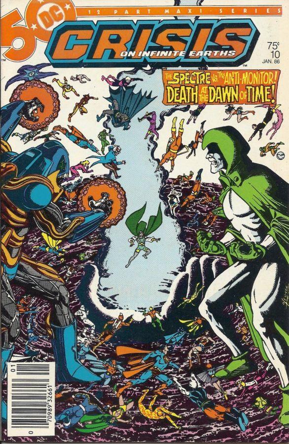 "Commence Ouroboros: DC's ""Crisis on Infinite Earths"" Part10"