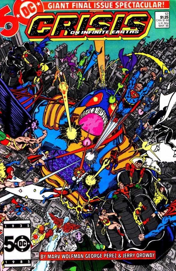"Commence Ouroboros: DC's ""Crisis on Infinite Earths"" Part12"