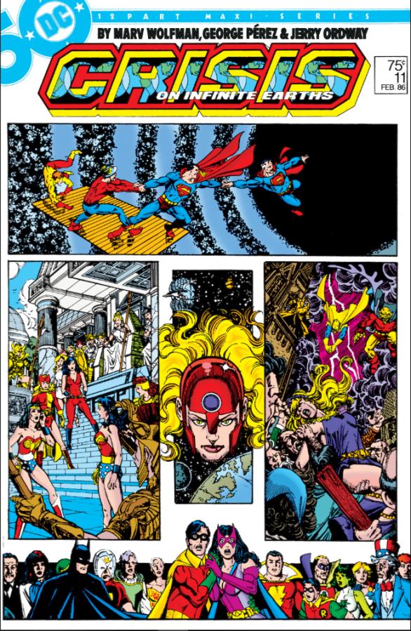"Commence Ouroboros: DC's ""Crisis on Infinite Earths"" Part11"