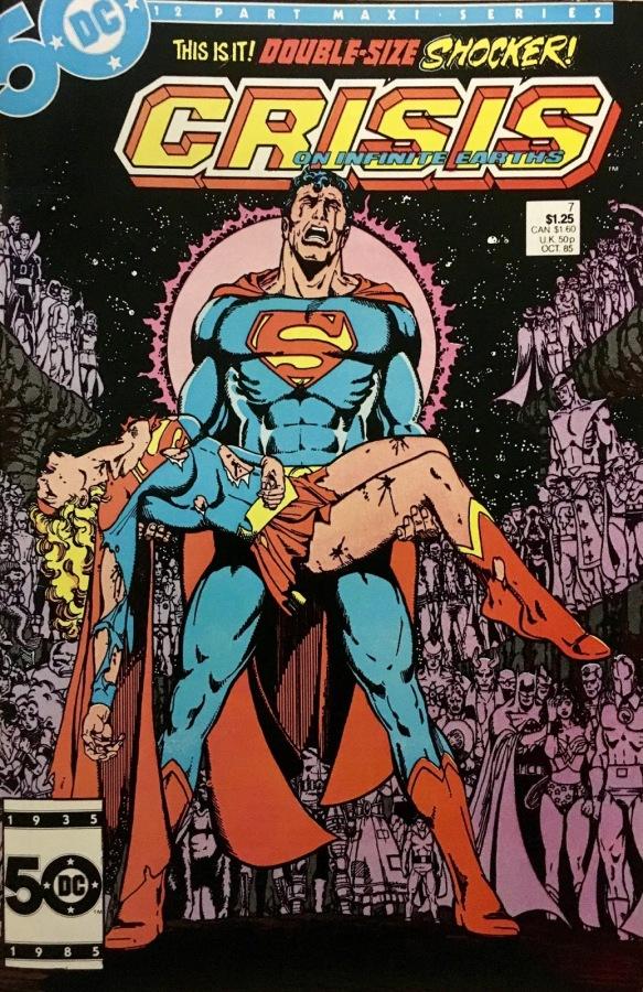 "Commence Ouroboros: DC's ""Crisis on Infinite Earths"" Part7"