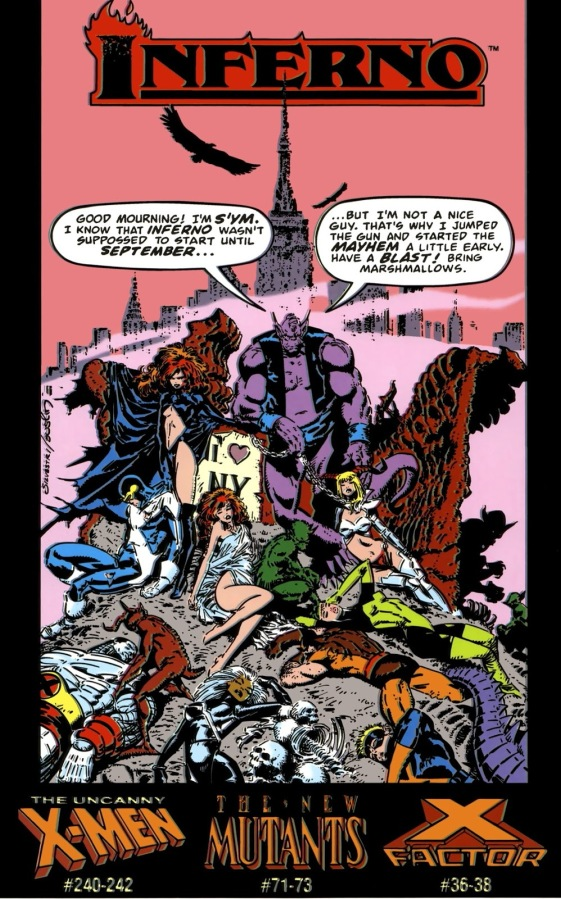 Marvel's Inferno is 30 YearsOld
